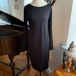 LULA ROE BLACK DRESS(DEBBIE?) so Large